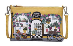 Flower Shop Pouch Bag Vendula - Rockamilly-Bags & Purses-Vintage