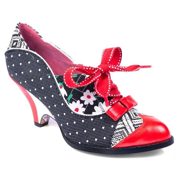 Force of Beauty Black Irregular Choice - Rockamilly-Shoes-Vintage