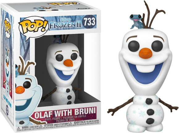 Frozen 2 Olaf with Bruni - Rockamilly-Nulls Gift Product-Vintage
