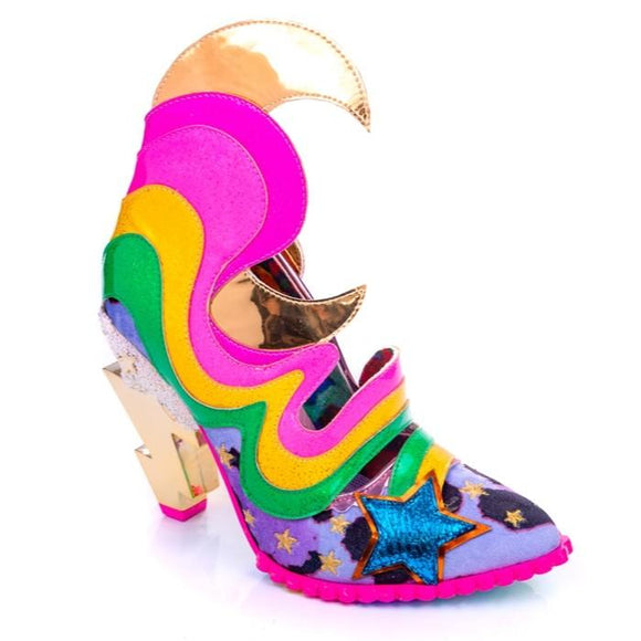 Galactic Thunder Pink Irregular Choice - Rockamilly-Shoes-Vintage