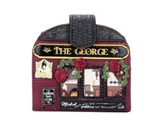 George Clipper Coin Purse Vendula (Vegan Approved) - Rockamilly-Bags & Purses-Vintage