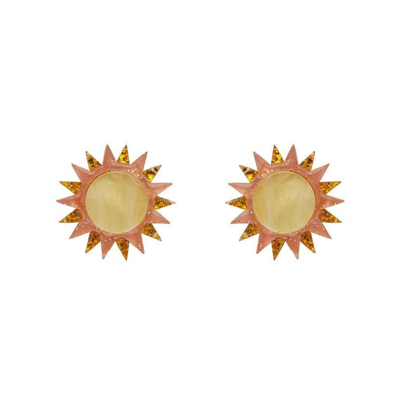 Golden Ray Earrings - Rockamilly-Jewellery-Vintage