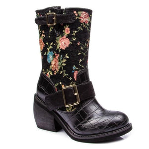Great Escape Black Irregular Choice - Rockamilly-Shoes-Vintage