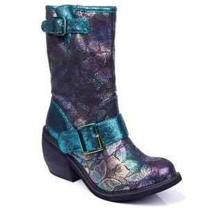 Great Escape Green Irregular Choice - Rockamilly-Shoes-Vintage