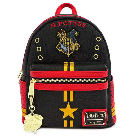 Harry Potter Hogwarts Crest Mini Backpack Loungefly - Rockamilly-Bags & Purses-Vintage