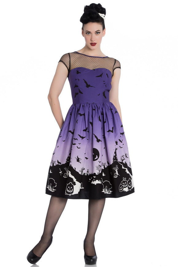 Haunt 50s Dress - Rockamilly-Dresses-Vintage