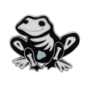Haunted Hopper Enamel Pin - Rockamilly-Jewellery-Vintage