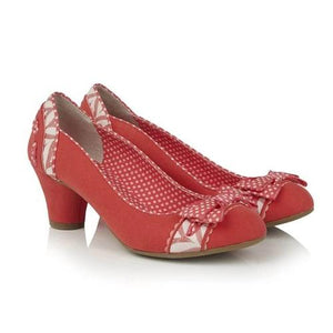 Hayley Coral Ruby Shoo - Rockamilly-Shoes-Vintage