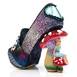 Hazel Corntree Blue Fairy Toadstool Collection Irregular Choice Character Heels - Rockamilly-Shoes-Vintage