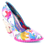 Heavens Above Pink Irregular Choice - Rockamilly-Shoes-Vintage