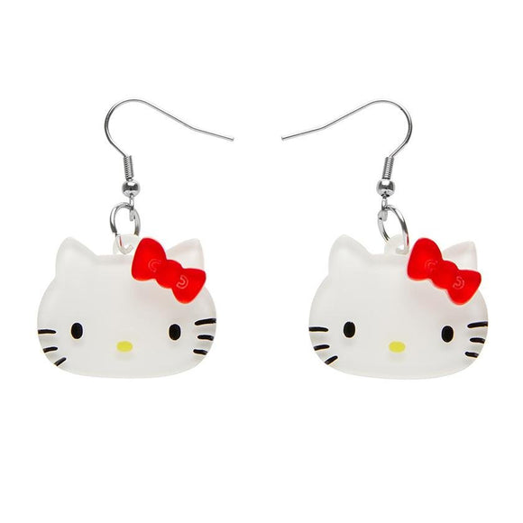 Hello Kitty Earrings - Rockamilly-Jewellery-Vintage