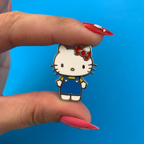 Hello Kitty Enamel Pin - Rockamilly-Jewellery-Vintage