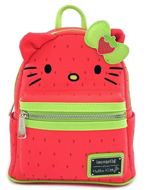 Hello Kitty Strawberry Mini Backpack - Rockamilly-Bags & Purses-Vintage