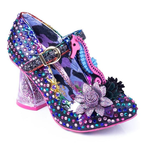 Hippokampos Black Irregular Choice - Rockamilly-Shoes-Vintage
