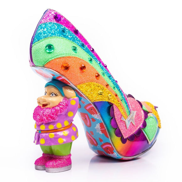 I Just Gnome It Reunion Collection Irregular Choice Shoes - Rockamilly-Shoes-Vintage