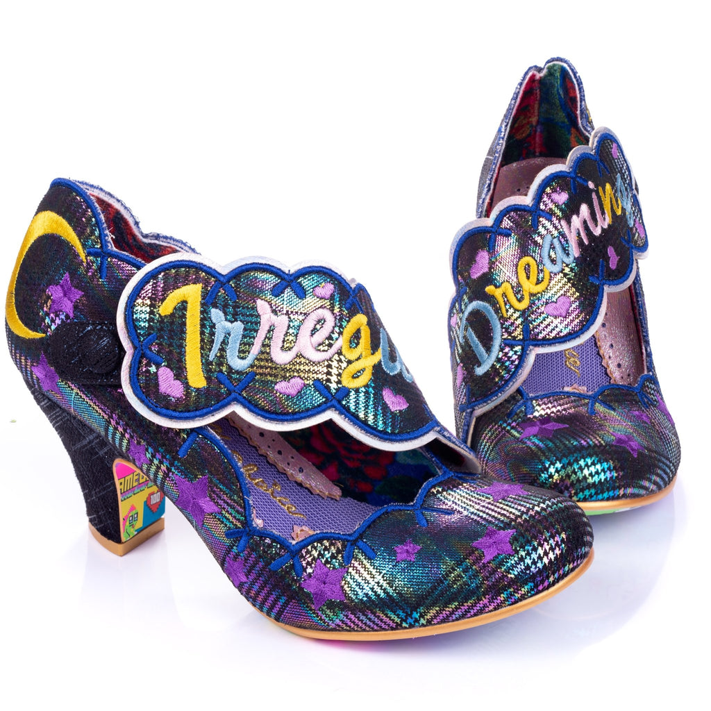 Irregular Dreaming Black Irregular Choice - Rockamilly-Shoes-Vintage