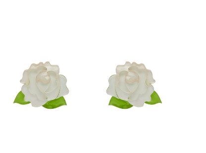 Juliet's Blooms Rose Earrings Erstwilder - Rockamilly-Jewellery-Vintage