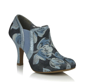Juno Sky Blue Shoes Ruby Shoo Vegan Friendly - Rockamilly-Shoes-Vintage