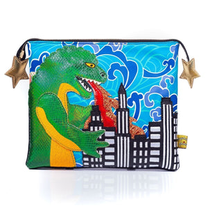 Jurassotops Pouch Bag Reunion Collection Irregular Choice - Rockamilly-Shoes-Vintage