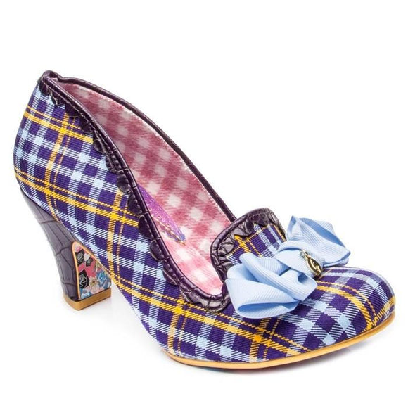 Kanjanka Blue/Yellow Irregular Choice - Rockamilly-Shoes-Vintage