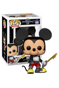 Kingdom Hearts 3 Mickey - Rockamilly-Nulls Gift Product-Vintage