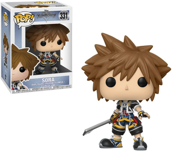 Kingdom Hearts 3 Sora with Shield - Rockamilly-Nulls Gift Product-Vintage