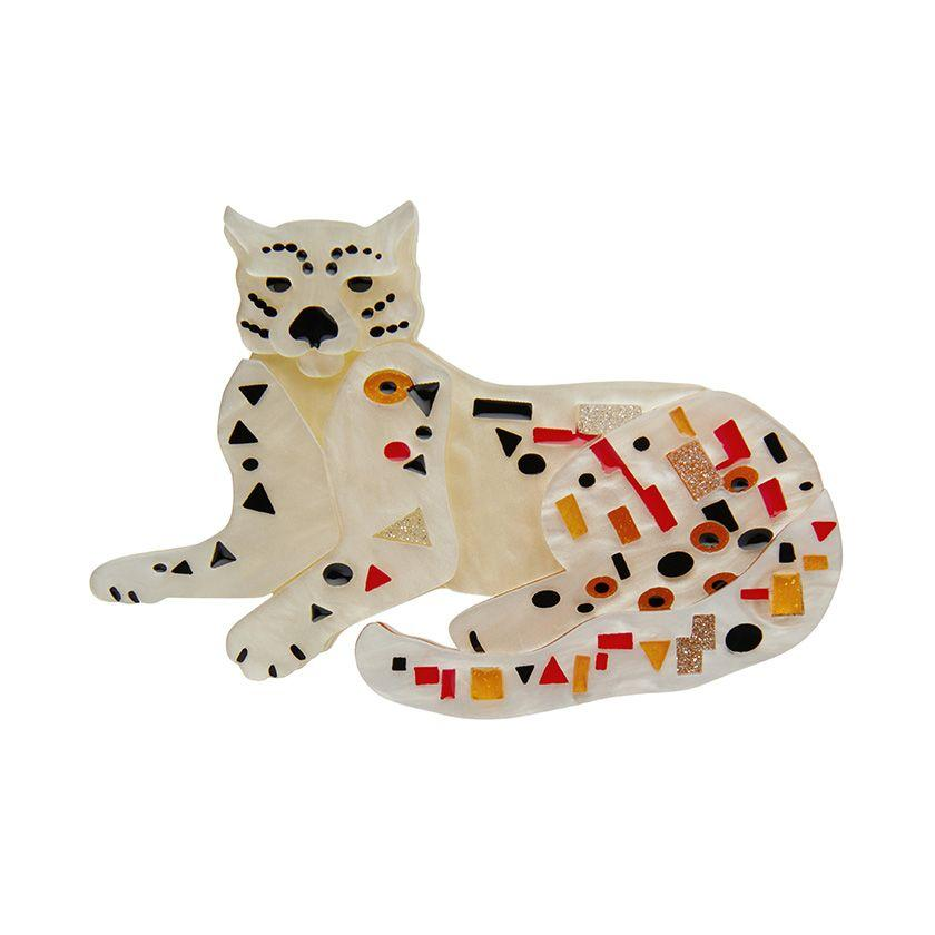 Klimt the Cat Brooch Erstwilder - Rockamilly-Accessories-Vintage