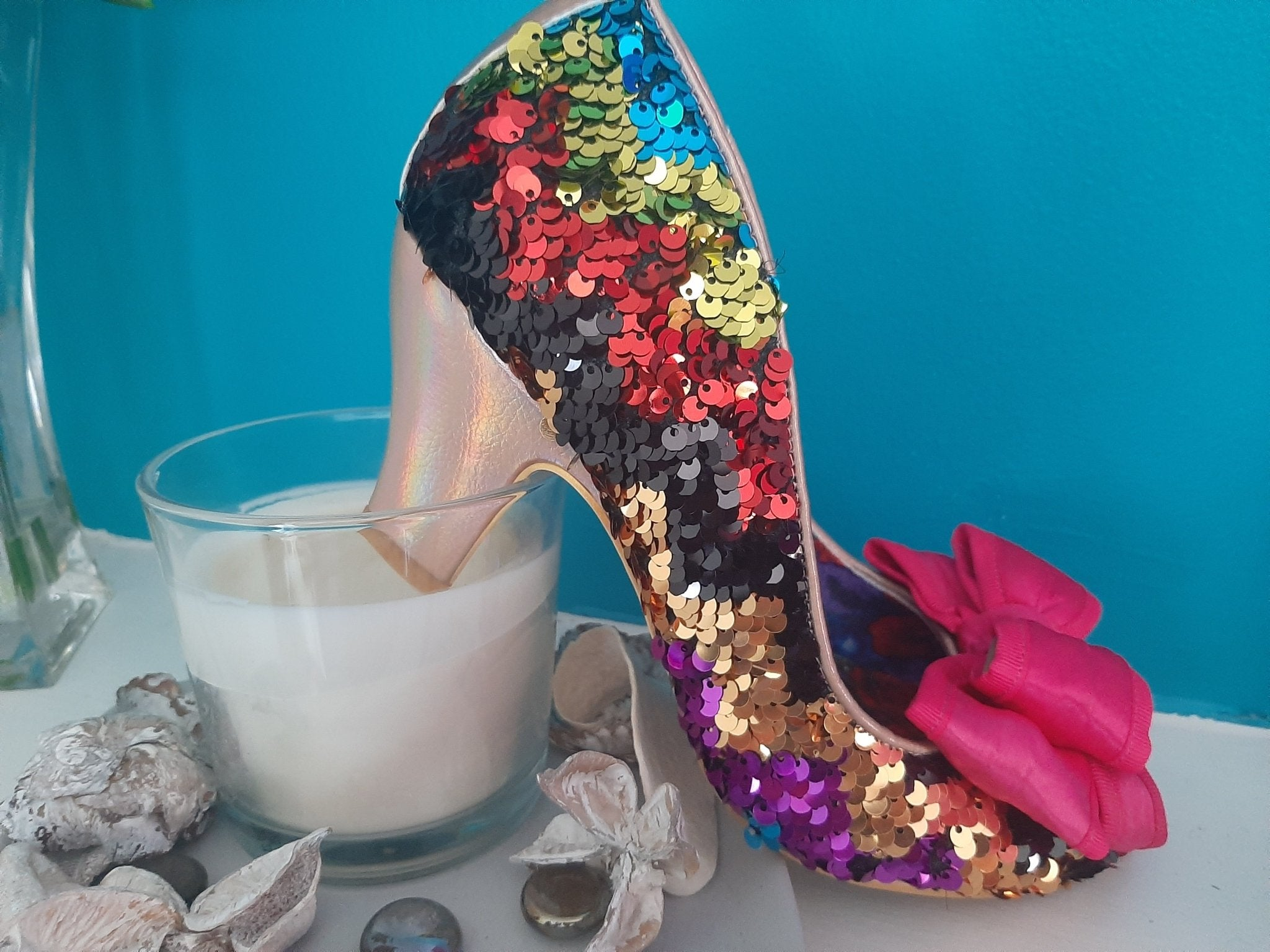 Lady Ban Joe Pink Glo Irregular Choice - Rockamilly-Shoes-Vintage