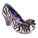Lady Ban Joe Pink/White Mid Heel - Rockamilly-Shoes-Vintage
