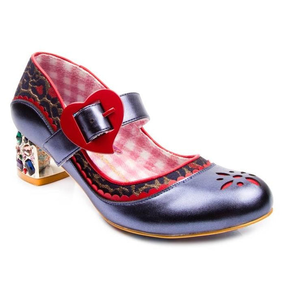 Little Jem Navy Irregular Choice - Rockamilly-Shoes-Vintage