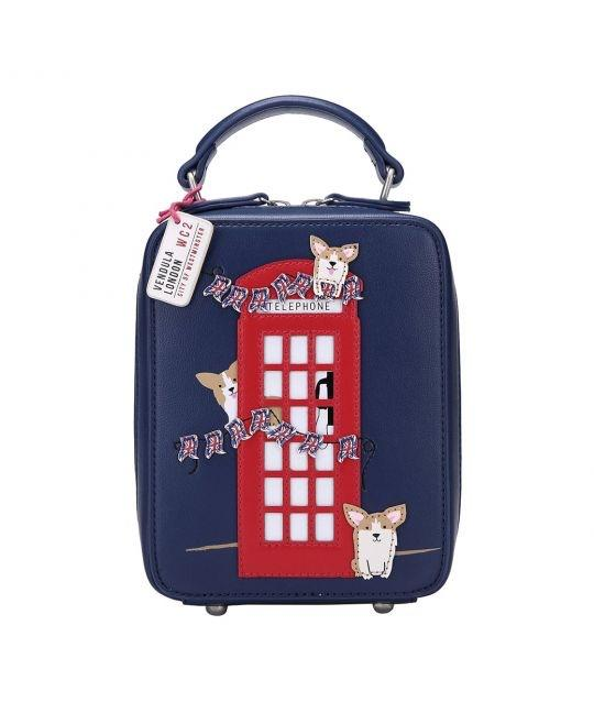 London Corgis Crossbody Bag - Rockamilly-Bags & Purses-Vintage