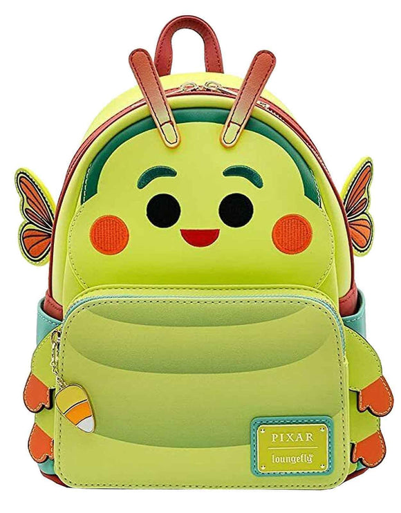Loungefly Disney Pixar A Bugs Life Heimlich Mini Backpack - Rockamilly-Bags & Purses-Vintage