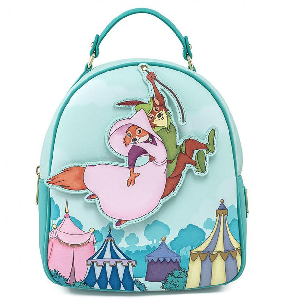 Loungefly Disney Robin Hood Robin Rescues Maid Marian Mini Backpack - Rockamilly-Bags & Purses-Vintage