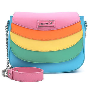 Loungefly Pride Rainbow Crossbody Bag - Rockamilly-Bags & Purses-Vintage