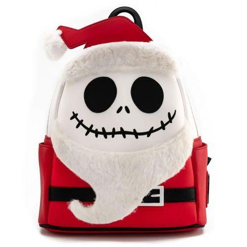Loungefly The Nightmare Before Christmas Santa Jack Cosplay Mini Backpack - Rockamilly-Bags & Purses-Vintage