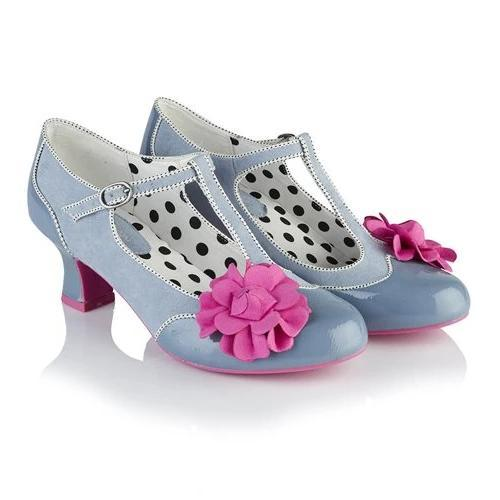 Marcie Sky Blue Ruby Shoo - Rockamilly-Shoes-Vintage