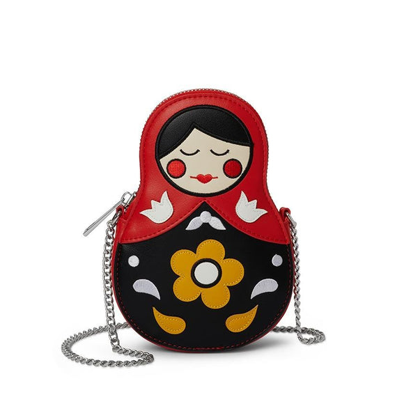 Matryoshka Hip Bag - Rockamilly-Bags & Purses-Vintage