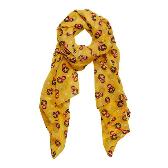 Matryoshka Memories Neck Scarf Erstwilder - Rockamilly-Accessories-Vintage