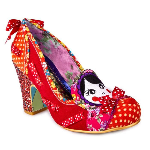 Matryoshka Memories Red - Rockamilly-Shoes-Vintage