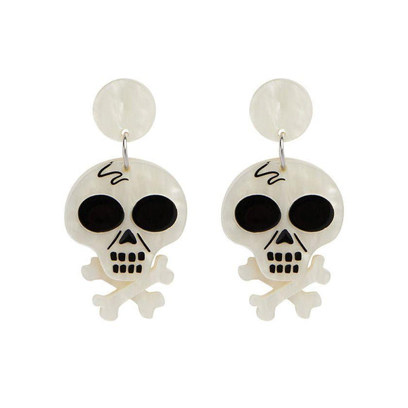 Memento Mori Earrings - Rockamilly-Jewellery-Vintage