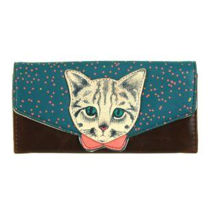 Meow Wallet - Rockamilly-Bags & Purses-Vintage