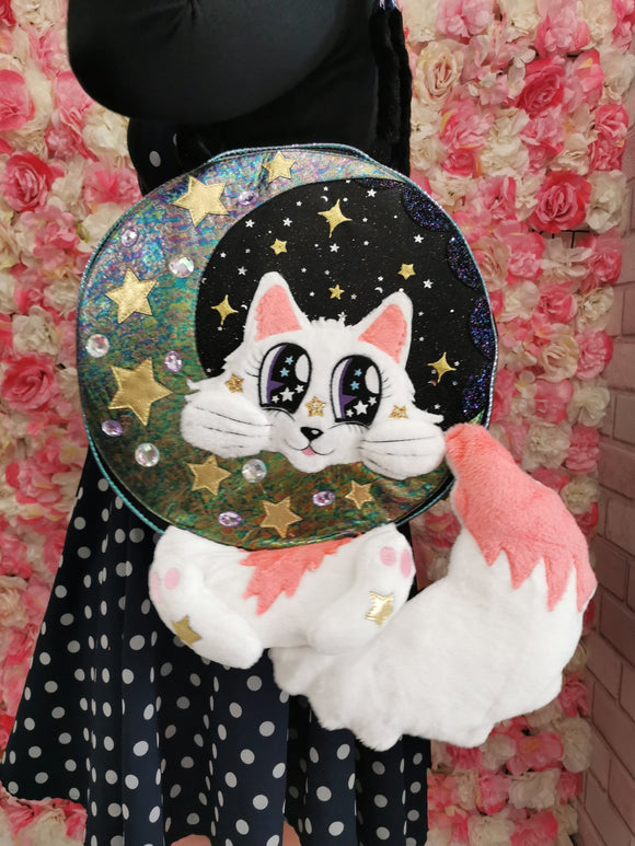 Miaow At The Moon - Rockamilly-Bags & Purses-Vintage