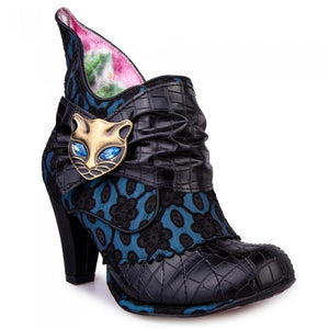Miaow Black - Rockamilly-Shoes-Vintage