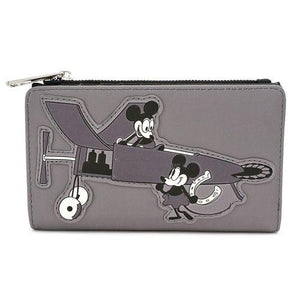 Mickey Mouse Flap Wallet Loungefly - Rockamilly-Bags & Purses-Vintage