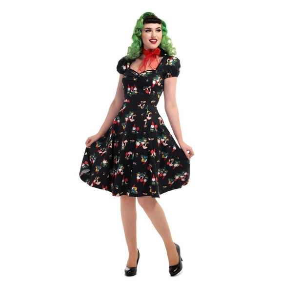 Mimi Gnome Dress - Rockamilly-Dresses-Vintage