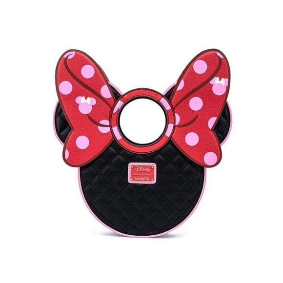 Minnie Mouse Bow Dots Crossbody Bag - Rockamilly-Bags & Purses-Vintage