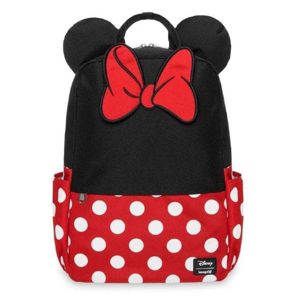 Minnie Mouse Cosplay Square Backpack - Rockamilly-Bags & Purses-Vintage