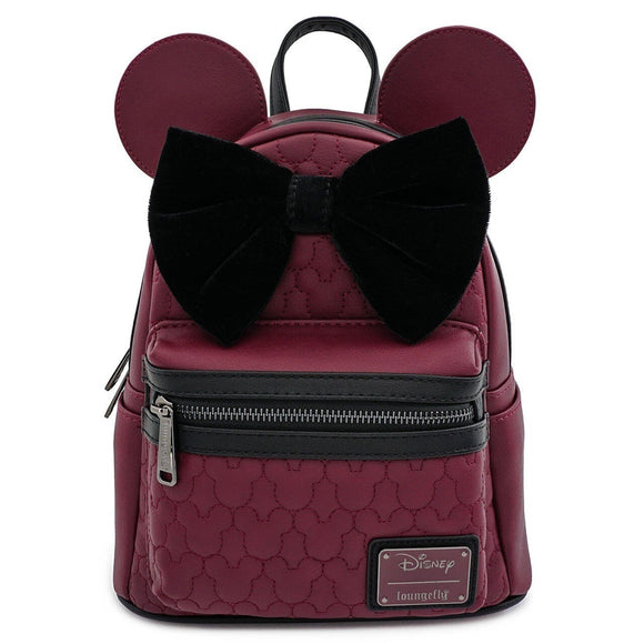 Minnie Mouse Quilted Mini Backpack - Rockamilly-Bags & Purses-Vintage
