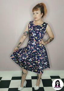 Miss Ostentatious Averian Dress - Rockamilly-Dresses-Vintage