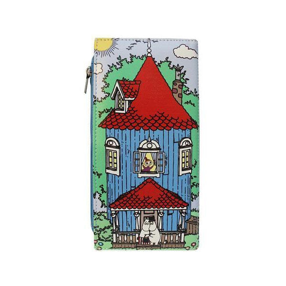 Moomin House Wallet - Rockamilly-Bags & Purses-Vintage